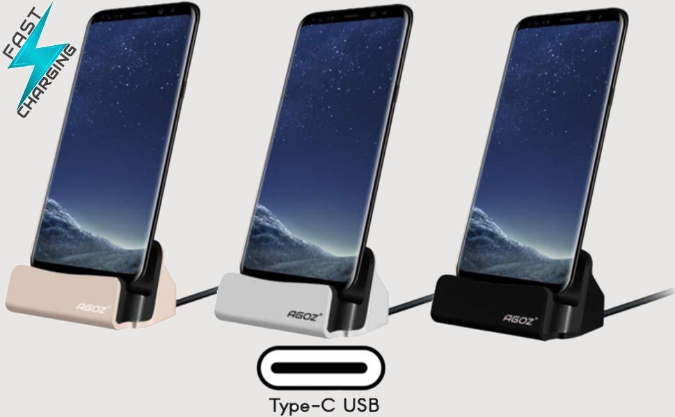 Desktop Dock Charging Charger Sync Cradle Station For Asus Zenfone 4 ZE554KL