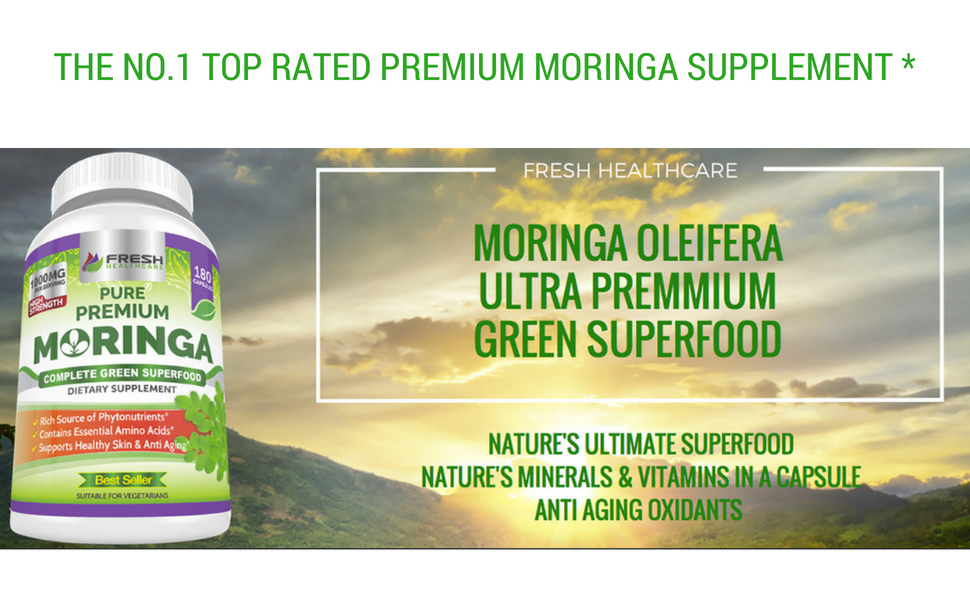 moringa oleifera capsules miracle tree organic pills go lacta superfood amino acids vitamins natural
