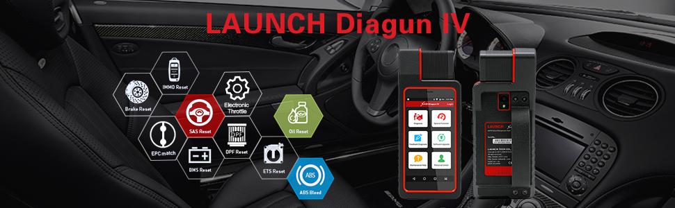 Amazon com: LAUNCH X431 Diagun IV Bi-Directional Automotive All