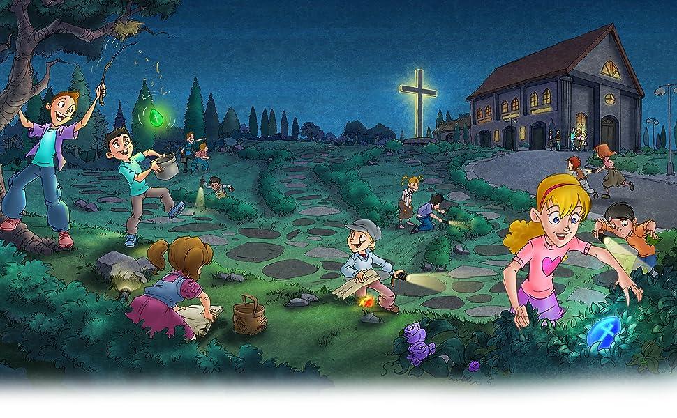 Amazon.com: Light of Jesus [Glow in The Dark Easter Eggs ... Easter Egg Representing Jesus