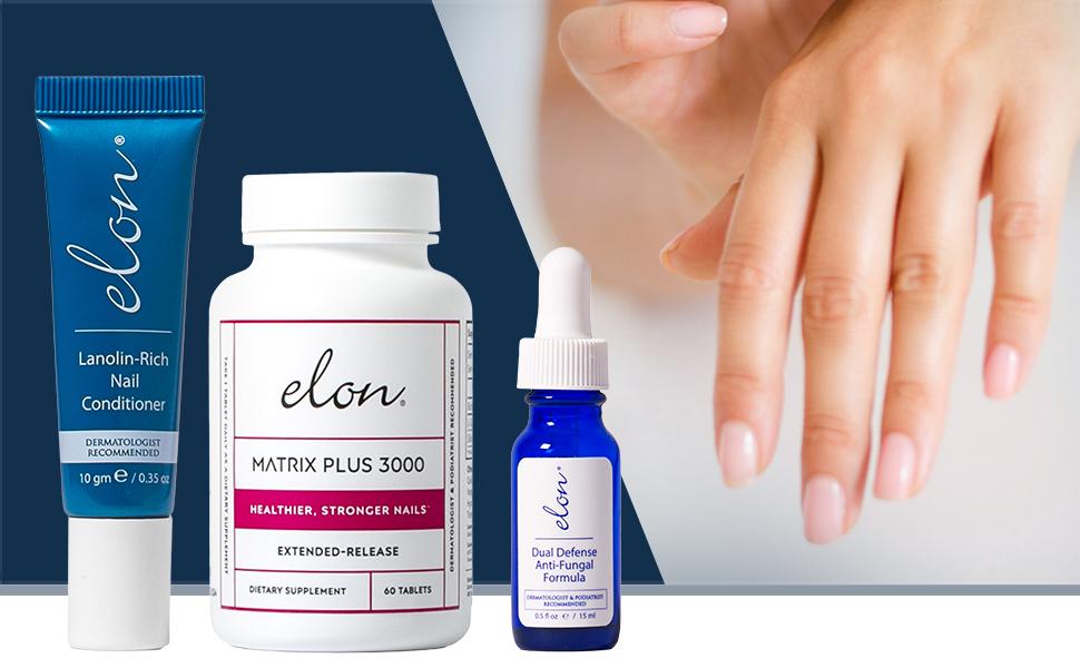 Elon essentials nail care treatment
