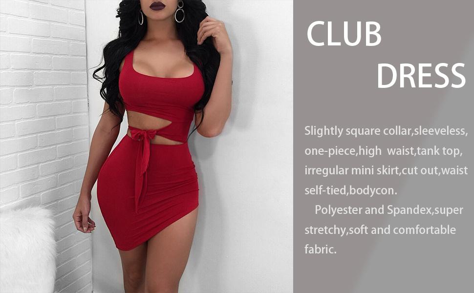 tank club dress