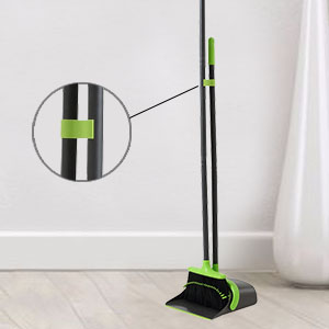 Clip on Broom and Dustpan Combo