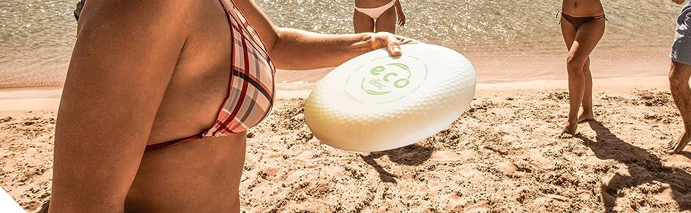 Eco Frisbee Natural Bamboo