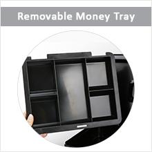 cash box with money tray