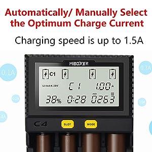 Compatible with: Li-ion (4.20V,4.35V LiFePO4(3.60V Ni-MH/Ni-Cd 1.48V Fully compatible One is enough