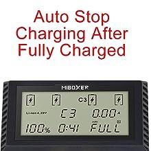 18350 18490 18500 18650 charger for Li-ion (4.20V,4.35V) / LiFePO4(3.60V) / Ni-MH/Ni-Cd (1.48V)