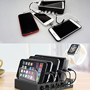 phone charger organizer usb cables cords management manager power battery recharge fast charging
