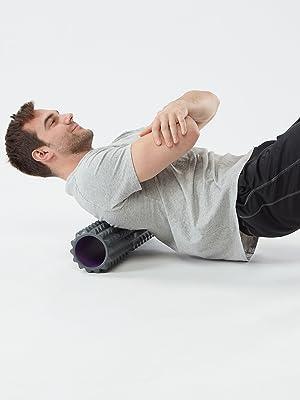 Planet Fitness Muscle Massager Foam Roller for Deep Tissue Massage Point Back