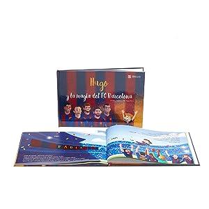 la magia de fc barcelona, fc barcelona, libros personalizados