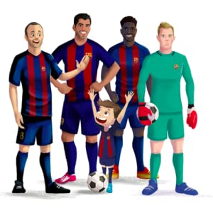The magic of fc Barcelona, fc Barcelona, Barcelona fc, soccer gifts, personalized