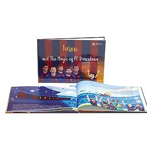 6da8d1f49 Amazon.com   Personalized Children s Book - The Magic of FC ...