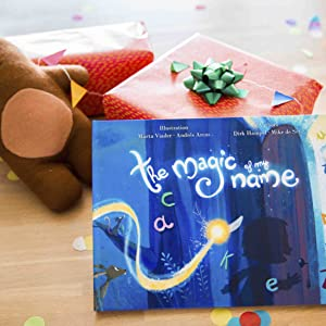 the magic of my name, personalized childrens books, personalized gifts, gifts for boys