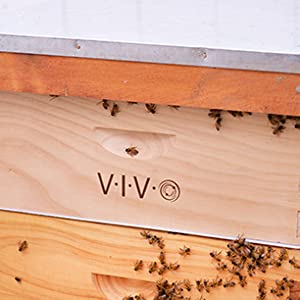 BEE-HV02 Complete Beekeeping 10 Frame Add-on Shallow Super Beehive Box
