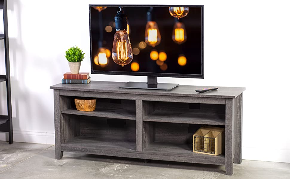 Table top entertainment stand VESA TV mount for flat screens
