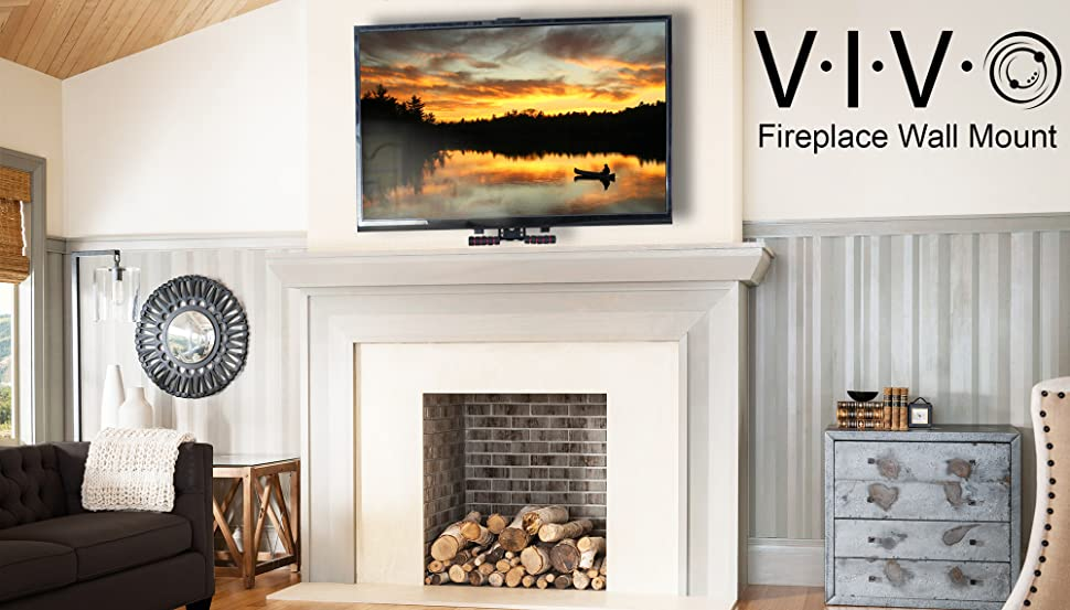 100  Tv On The Wall Above Fireplace View In Gallery Above Th
