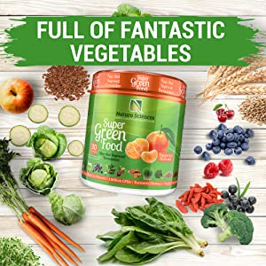 daily recommended vegetables