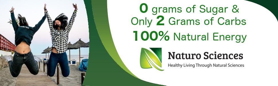natural energy 0 grams sugar