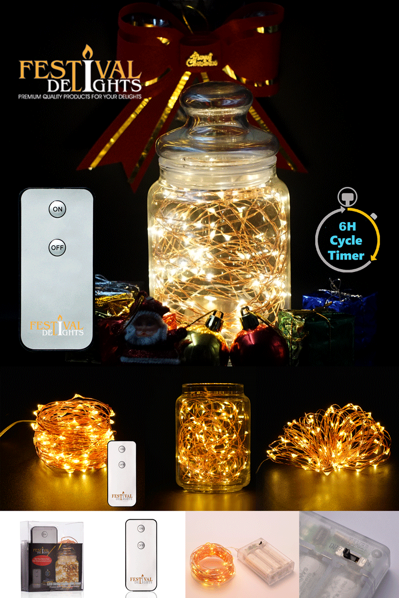 Amazon Com Festival Delights Fairy Lights Led String