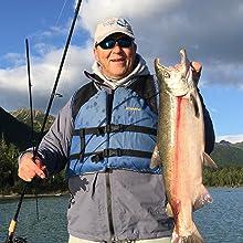 fish, fishing, salmon, alaskan salmon, alaska, fishing line tyer, fishing line, fishing tool