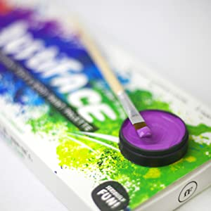 creamy paint pigment water activated quality best body painting