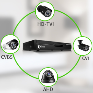 Flashandfocus.com 9613afe4-5efa-430e-b906-c9a858d932a2._CR0,0,300,300_PT0_SX300__ XVIM 8CH 1080P Security Camera System Home Security Outdoor 1TB Hard Drive Pre-Install CCTV Recorder 4pcs HD 1920TVL…