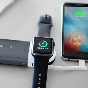 Amazon.com: MIPOW Cargador portátil para Apple Watch, con ...