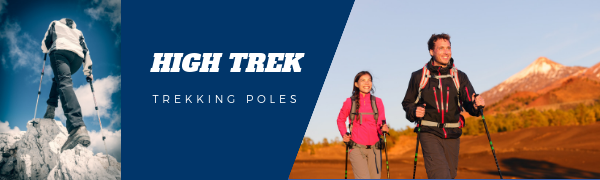 High Trek Trekking Poles