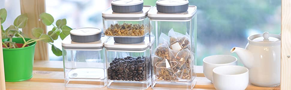 vacuum seal canisters,coffee canisters