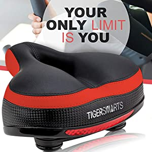 exercise bike seat replacement red color