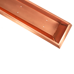 H Potter real copper window box