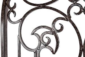 Amazon.com : H Potter Large Garden Trellis Wrought Iron