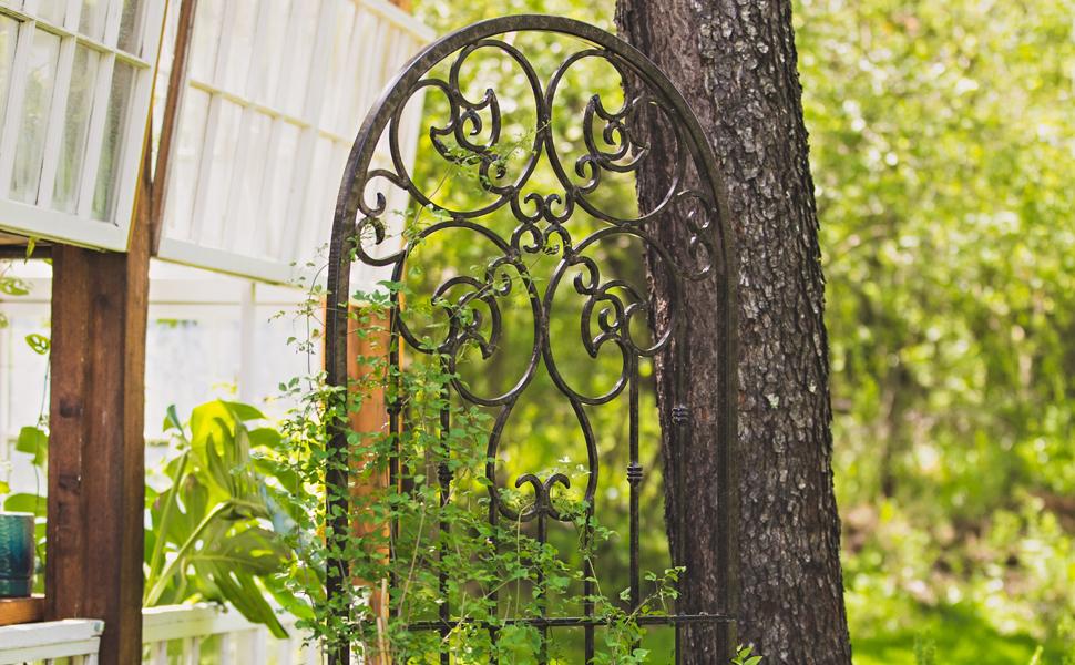 Amazon Com H Potter Garden Trellis For Climbing Plants Metal