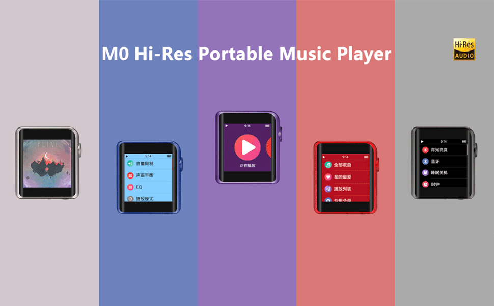 Shanling M0 Hi-Res Bluetooth Touch Screen Portable Music player