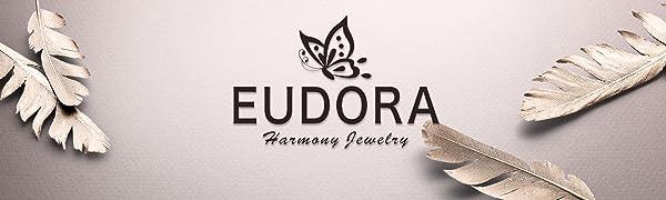 EUDORA harmony jewelry sterling silver necklace