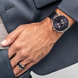Bering Men watch Bracelet watch sapphire crystal Slim Unisex Behring Skagen Max-Rene Design classic