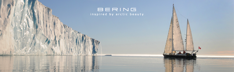 Bering Womens watch Bracelet sapphire crystal Slim Unisex Behring Skagen Ceramic Design Fashion