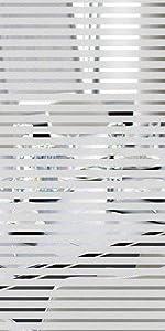 Frosted Stripe Window Glass Films