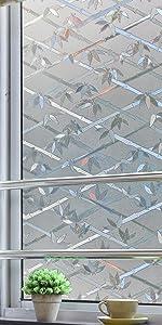 3D privacy window film