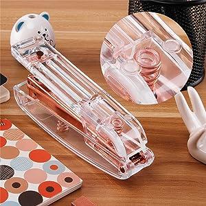 Clear Desk Stapler