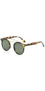 462196a25c SOJOS Small Square Polarized Sunglasses for Men and Women Polygon Mirrored  Lens SJ1072 SJ1077 SJ1072C1