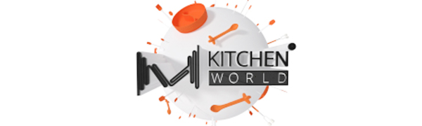 M KITCHEN WORLD LOGO