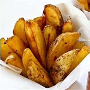 turmeric potato wedges