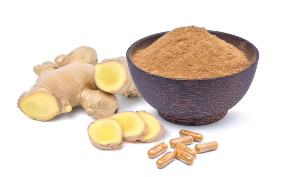 Ginger capsule