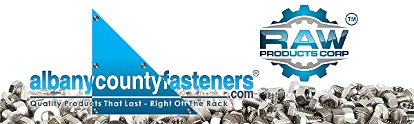 Albany County Fasteners Raw Products Corp