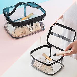 clear travel bag