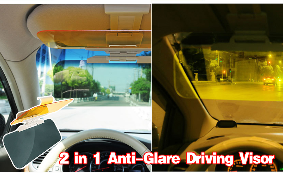 Amazon.com  VZCY Car Day and Night Anti-Glare Visor Sun Visor ... c42060d5d2a
