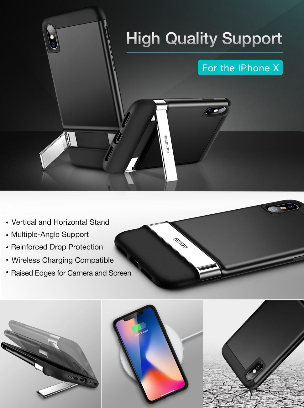 iphone x stand case