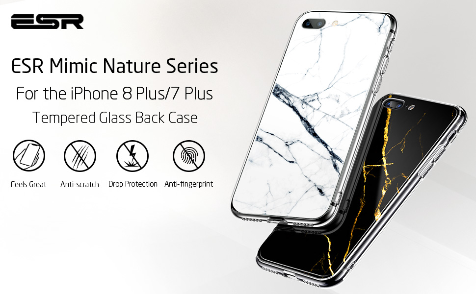 cheap for discount 5db79 3757d iPhone 8 Plus/7 Plus Mimic Tempered Glass Case