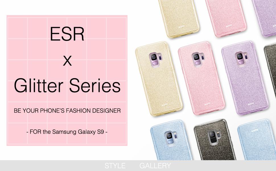s9 glitter case